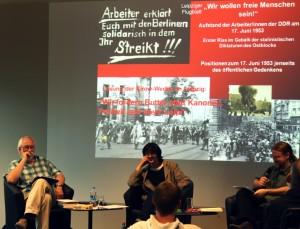 """Veranstaltung """"Wir wollen freie Menschen sein!"""", Foto: Jenny Schindler"""