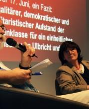 Veranstaltung Wir wollen freie Menschen sein!, Foto: Jenny Schindler