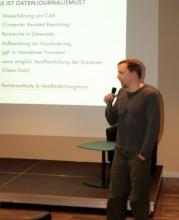 Veranstaltung Datenjournalismus, Foto: Robert D. Meyer