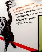 Ausstellungseröffnung Vom Verschwinden des Willi Münzenberg, Foto: Patrick Stary (RLS)