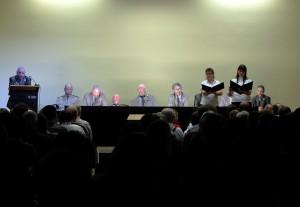 """Theaterstück """"Das Ende der SED"""", Foto: Camay Sungu"""