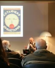 "Veranstaltung: ""Der Fliegende Proletarier"", Foto: Jenny Schindler"
